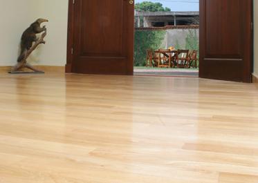 Colocar pisos flotantes de madera
