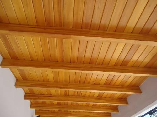 Como hacer un techo de madera pictures to pin on pinterest for Como construir un kiosco en madera