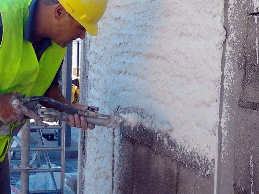 Mortero hidrofugo fachadas materiales de construcci n for Mortero para juntas exterior