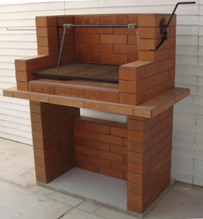 Como construir una parrilla de ladrillos alba iles for Fogones rusticos en ladrillo