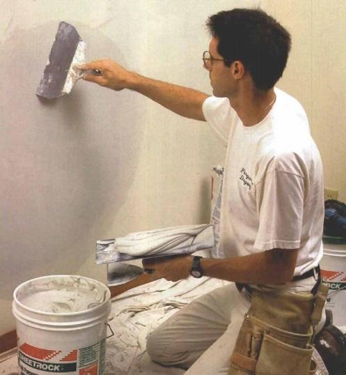 C mo reparar da os en paredes y cielo rasos de yeso - Como solucionar humedades en paredes ...