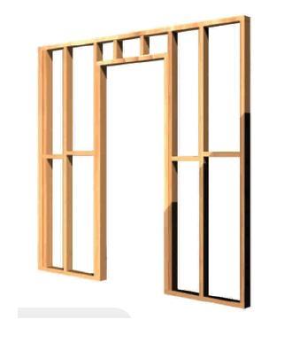 C mo hacer una pared de madera alba iles - Hacer una ventana de madera ...