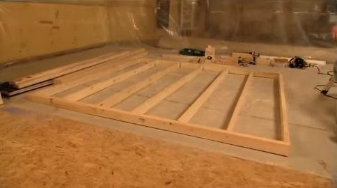 C mo hacer una pared de madera alba iles - Se puede poner una chimenea en un piso ...
