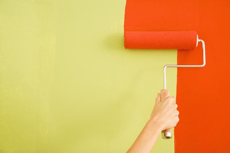 Aplicación de pinturas termocromáticas en espacios interiores
