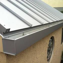 Cómo instalar una canaleta de techo