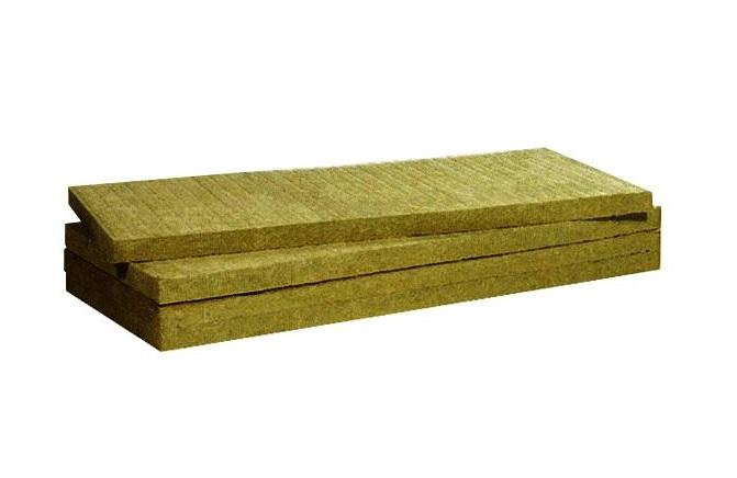 Paneles de lana de roca
