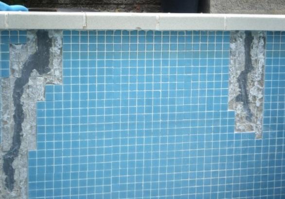 C mo reparar grietas en una piscina de cemento alba iles for Como construir una pileta de hormigon