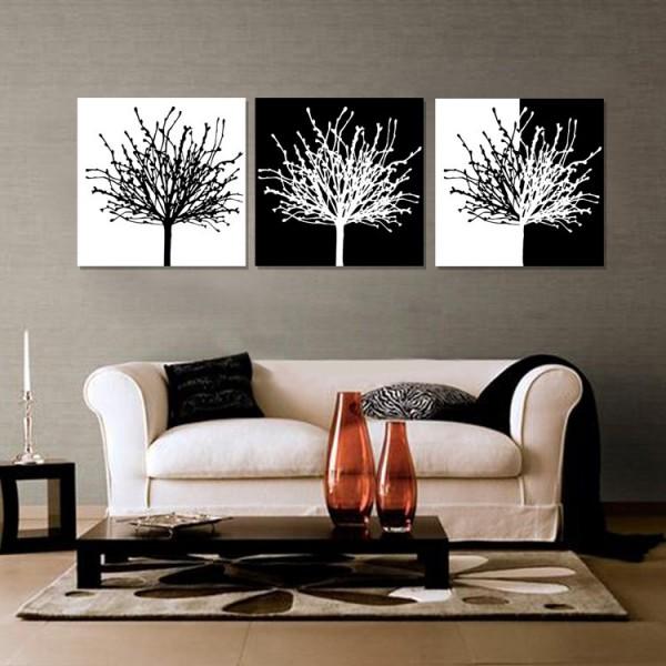 Decoraci n consejos para colgar y distribuir cuadros en for Decoracion de paredes con cuadros