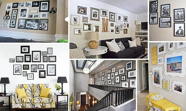 Decoración: Consejos para colgar y distribuir cuadros en las paredes