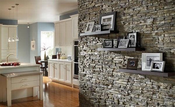 c mo se coloca revestimiento de piedra en paredes