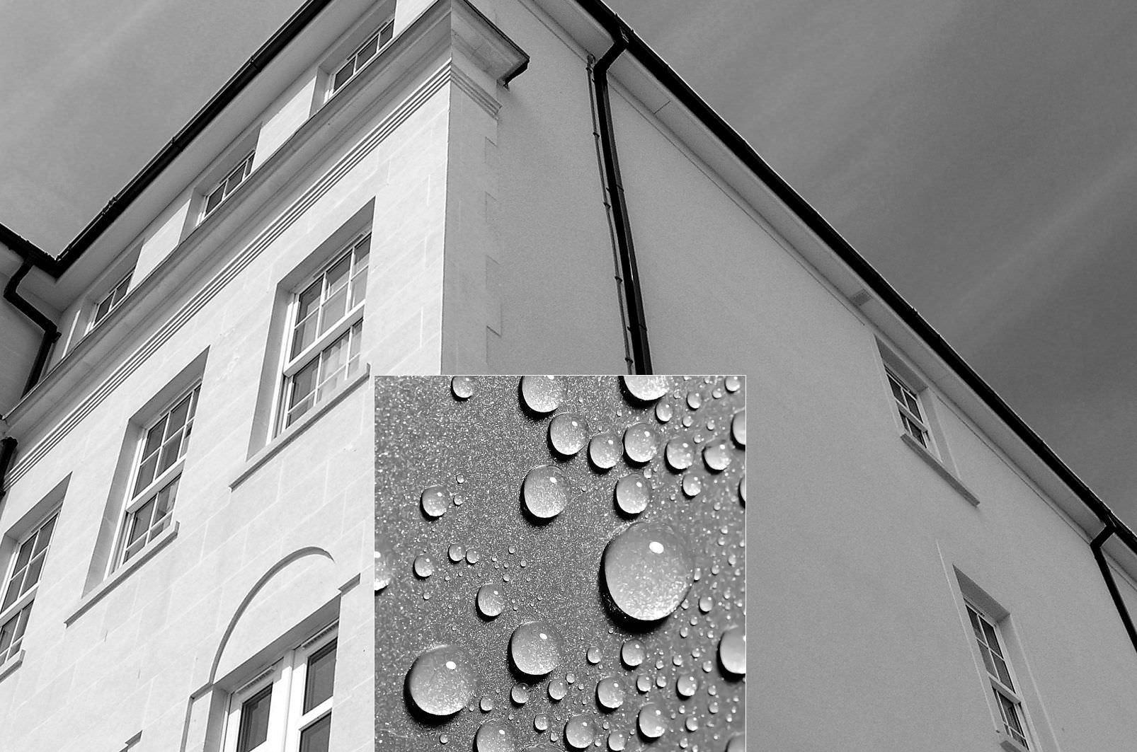 Pintura de silicona su uso para proteger muros exteriores for Arcones de resina para exterior