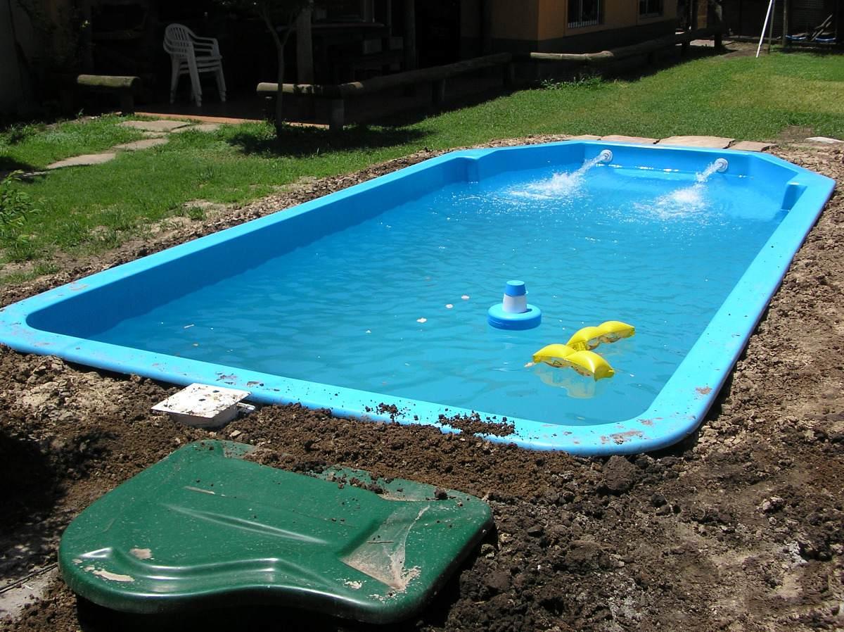 Instalao de piscina de fibra passo a passo instalao - Piscinas de fibra ...