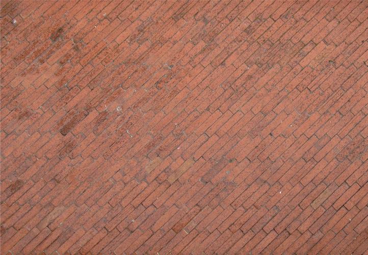 piso de ladrillos
