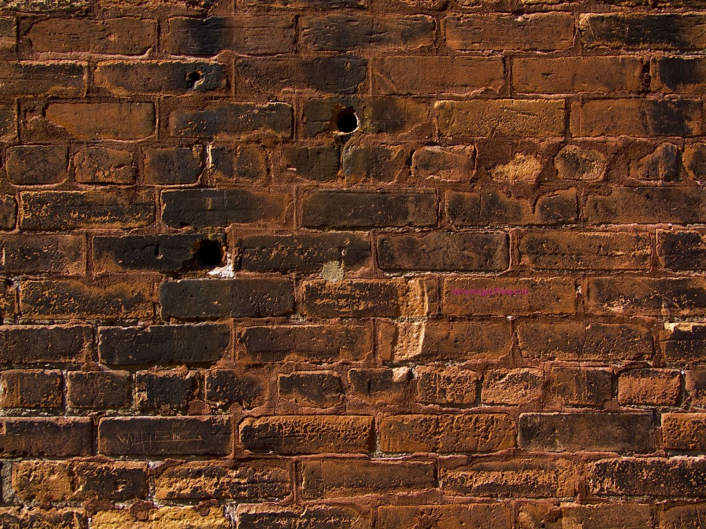old distillery brick wall