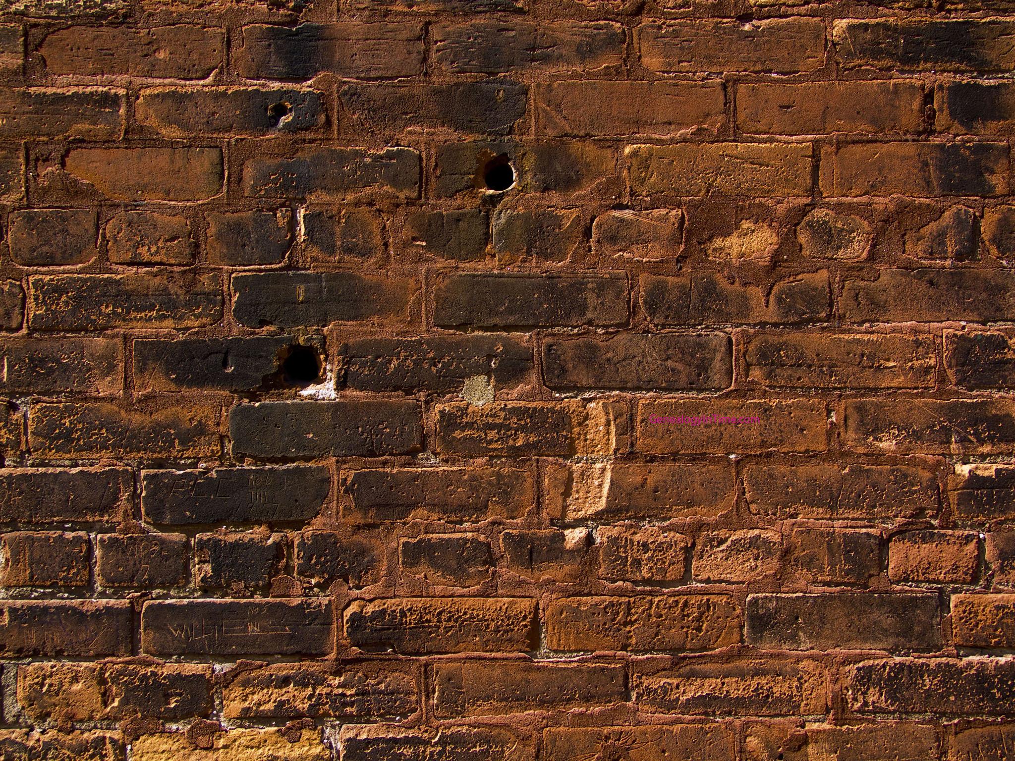 C mo reparar ladrillos agrietados en un muro alba iles - Reparacion de humedades en paredes ...