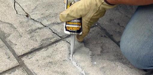 Cómo reparar un piso de concreto resquebrajado