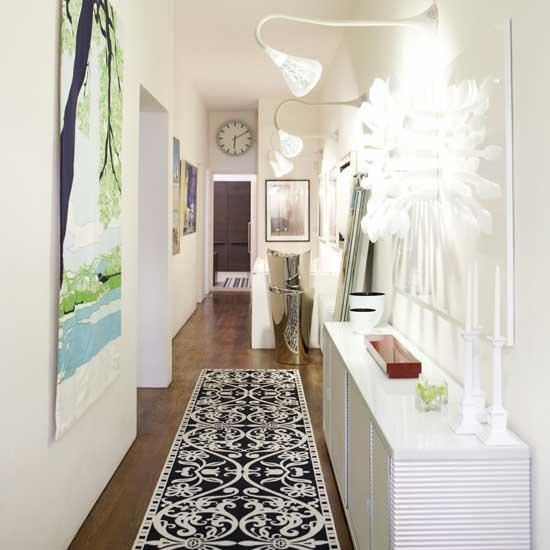Cómo aprovechar el espacio en los corredores