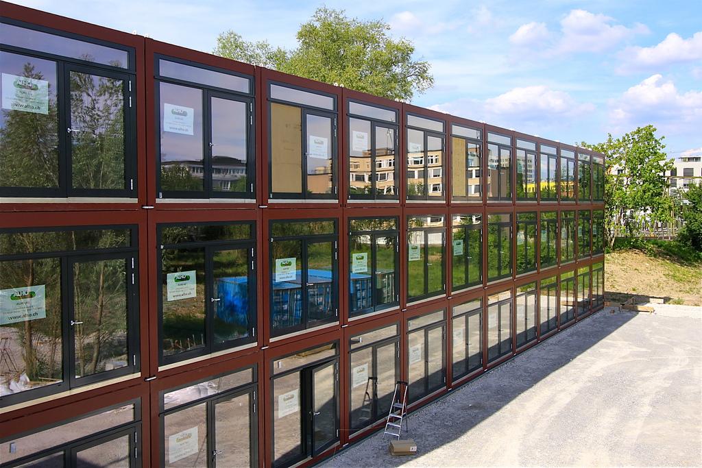 Cómo idear casas ecológicas hechas de contenedores