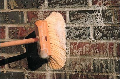 C mo limpiar el salitre de una pared de ladrillos alba iles Construir una pileta de ladrillos