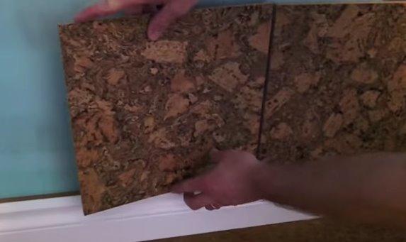 C mo instalar una pared de corcho alba iles - Placas de corcho para paredes ...