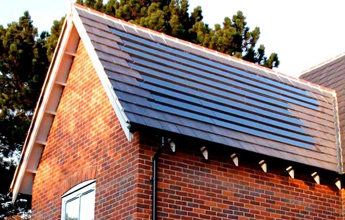 Cómo se emplean las tejas solares