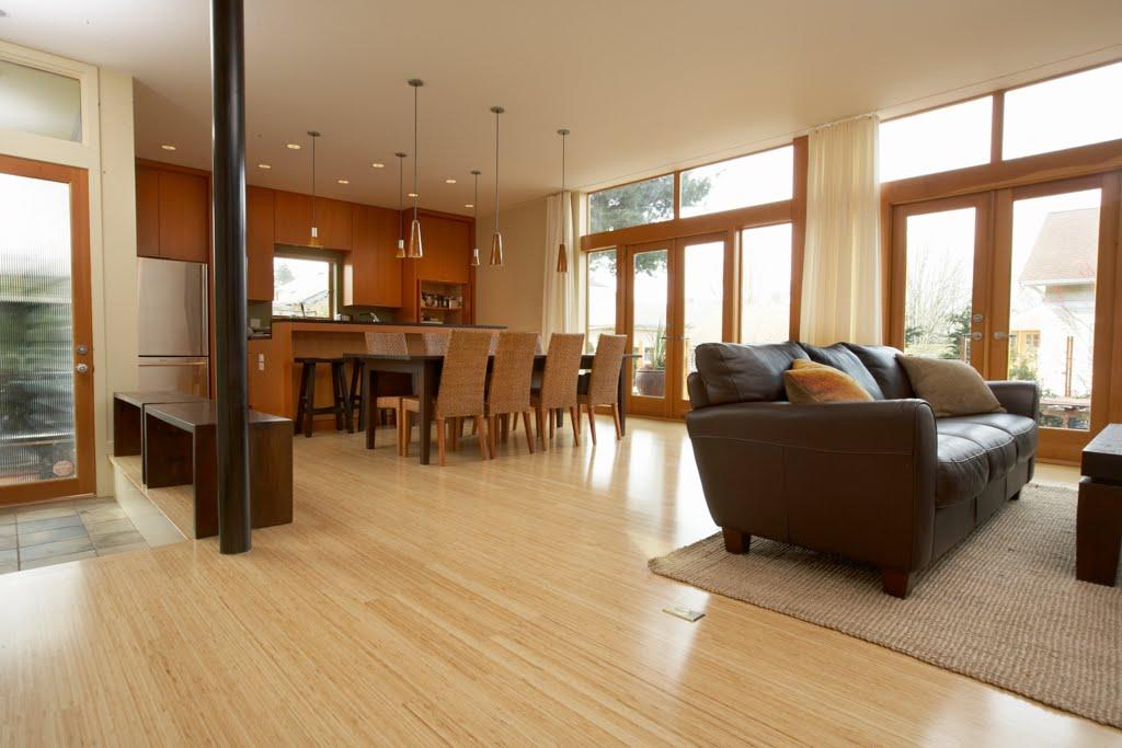 C mo colocar un piso flotante de bamb alba iles - Como nivelar un piso para colocar piso flotante ...