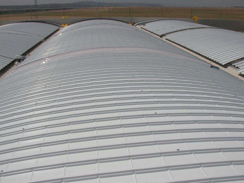 Cómo se usan las cubiertas autoportantes para techos