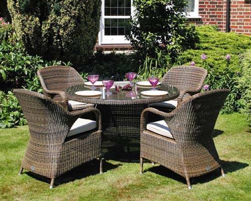 Muebles para jardín: Tipos, ventajas, desventajas y cuidados