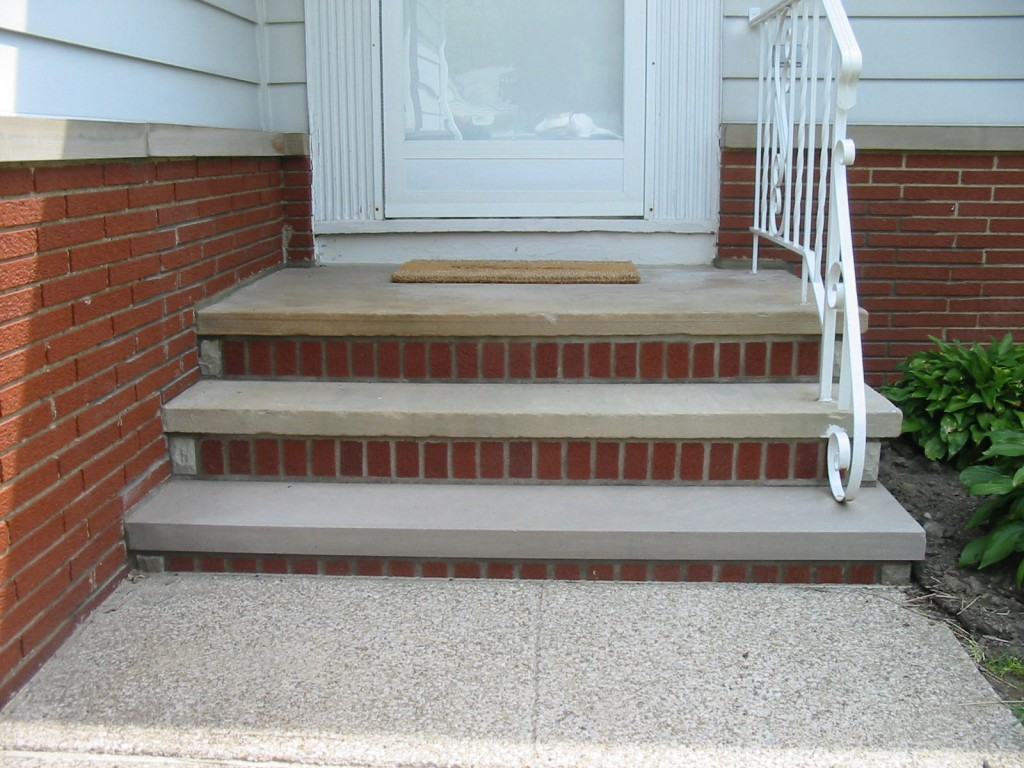 Escaleras c mo reparar escalones da ados alba iles - Escaleras para exterior ...