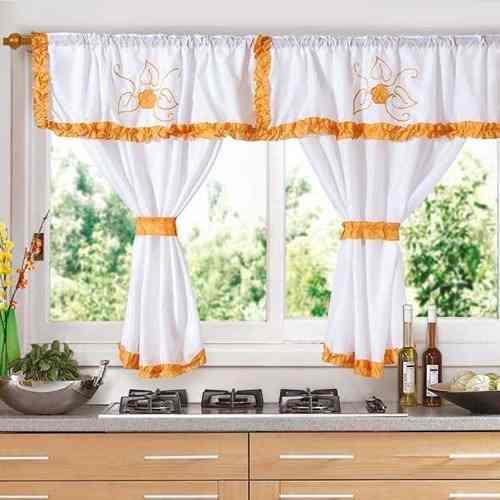 C mo elegir una cortina adecuada para la cocina alba iles for Decoracion cortinas cocina