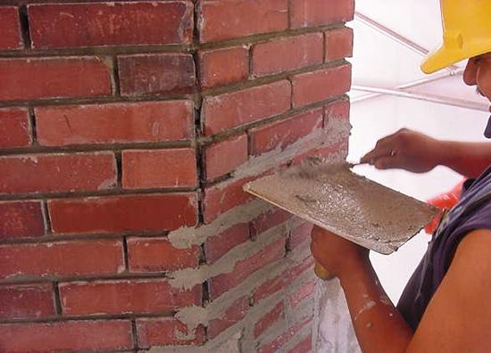 c mo reparar las juntas de mortero en una pared de