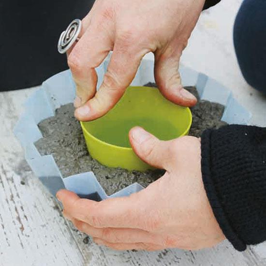 molde maceta concreto