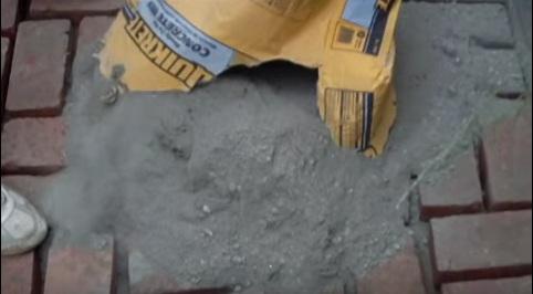 cómo hacer un piso de ladrillos sin cemento | albañiles
