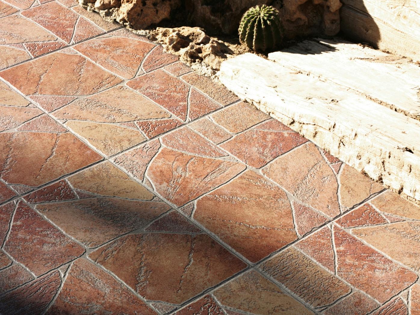 Como instalar un piso de baldosas cerámicas en galerías, patios y jardines