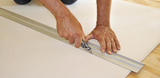 Herramientas para trabajar con paneles de yeso laminado