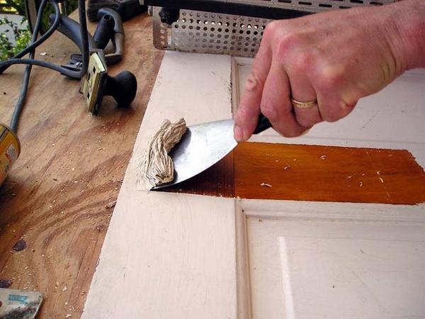 How To Strip Paint Off Metal Door Frames