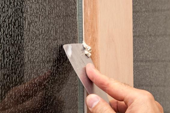Como cambiar el vidrio de ventanas de madera