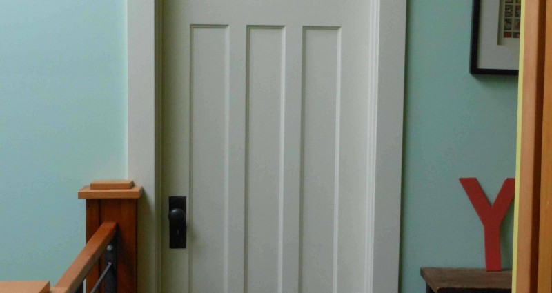 puerta madera interior