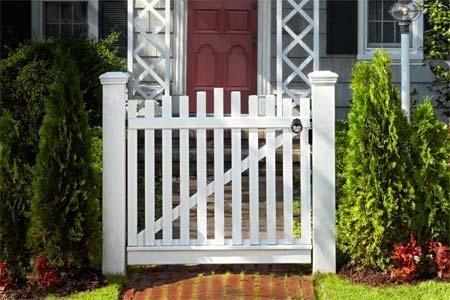 Carpintería: Cómo construir una puerta para la cerca del jardín