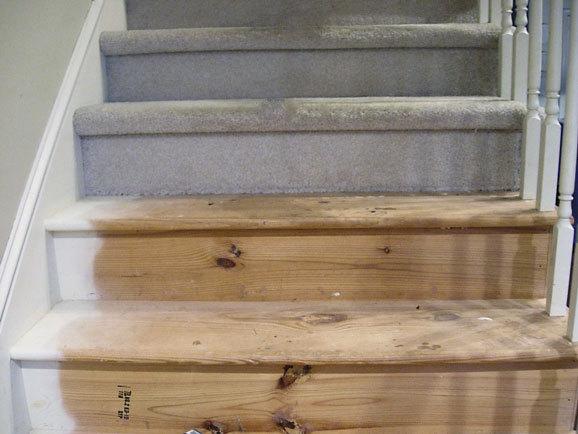C mo renovar la pintura en las escaleras de madera alba iles - Pintura para escaleras ...