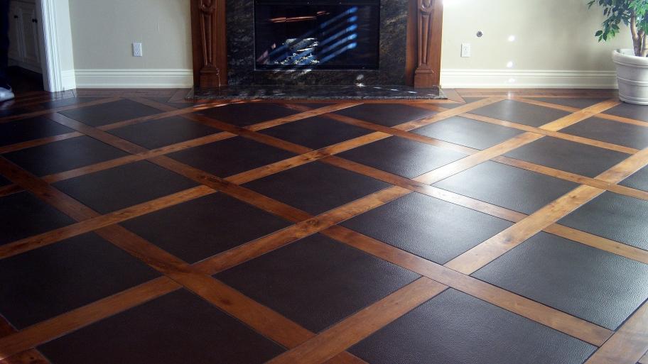 Qu son los pisos con materiales combinados alba iles for Pisos ceramicos de madera