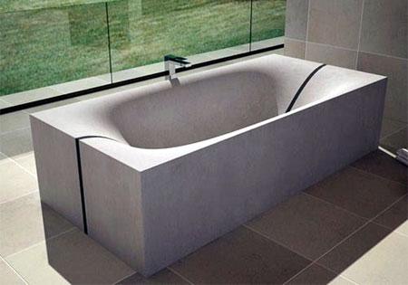 Bañeras de cemento: Ventajas y desventajas