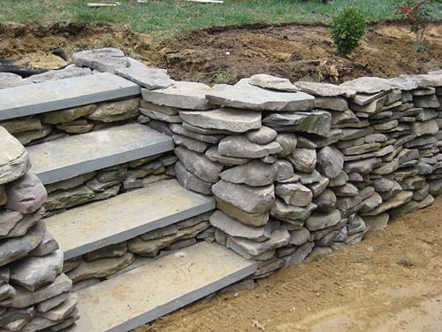 Cómo construir un muro de piedra en el patio o jardín