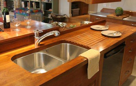 Materiales aptos para encimeras de cocina sus ventajas y for Mesada de madera para cocina