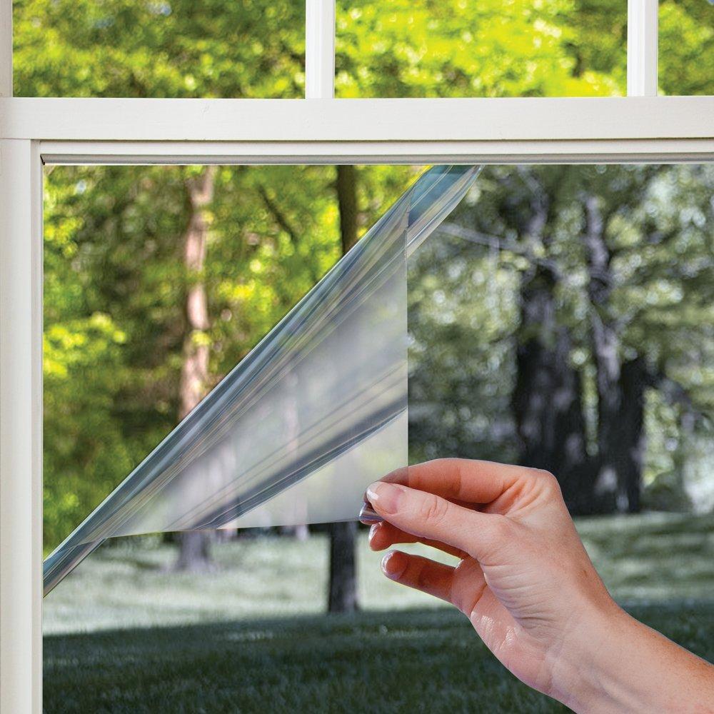 Cómo aplicar láminas polarizadas en los vidrios de las ventanas