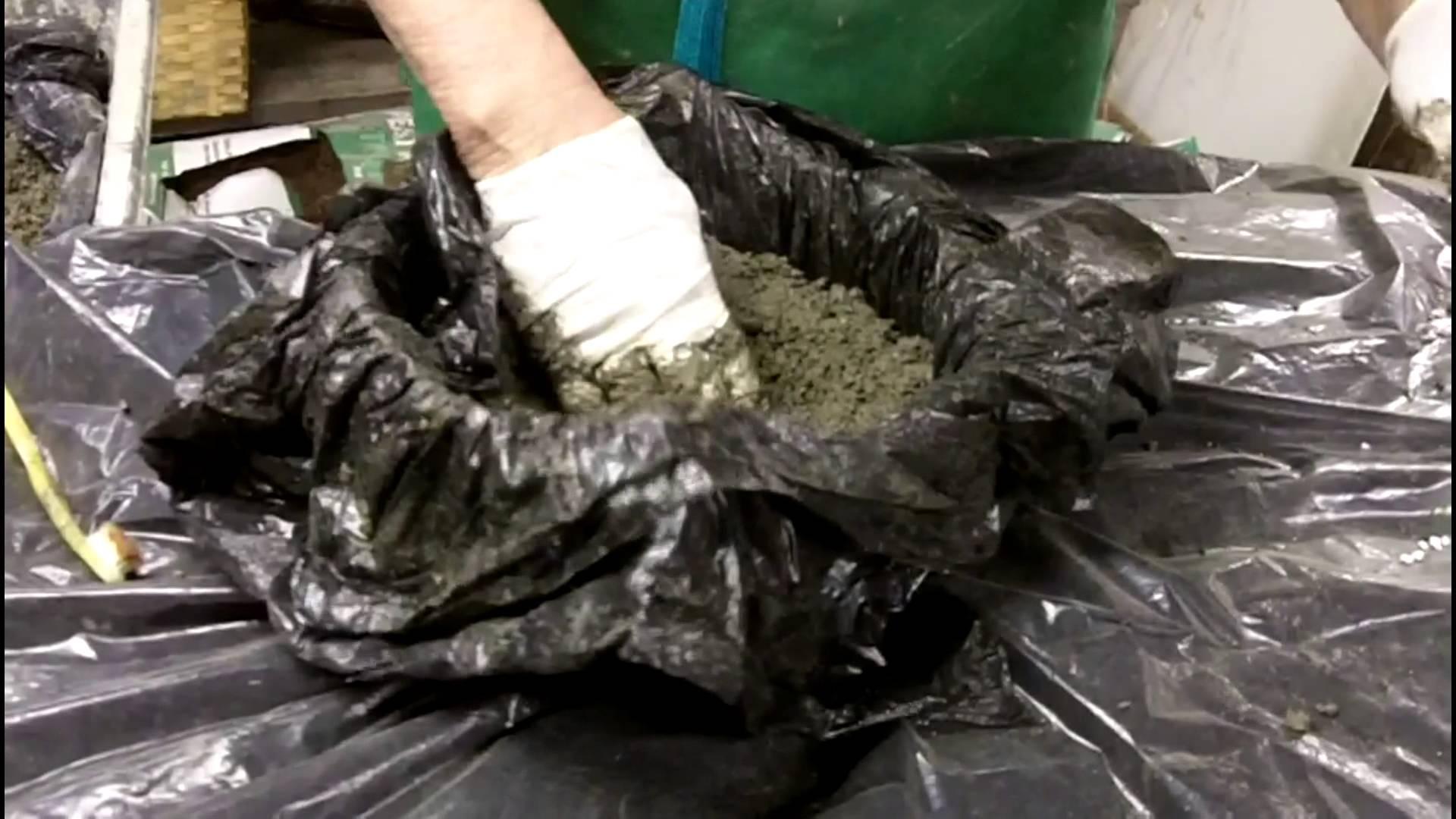 C mo hacer rocas artificiales con cemento alba iles - Moldes piedra artificial ...