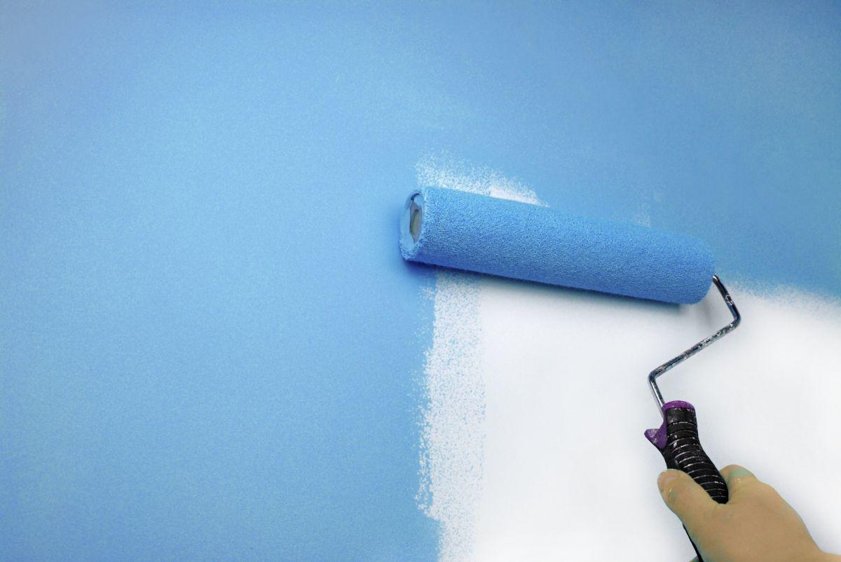 Cómo pintar paredes y techos de durlock