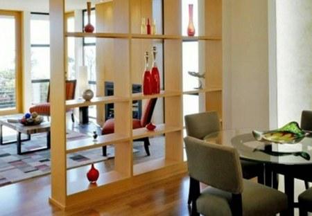 C mo usar los muebles para separar ambientes en una misma for Separacion de muebles cocina comedor