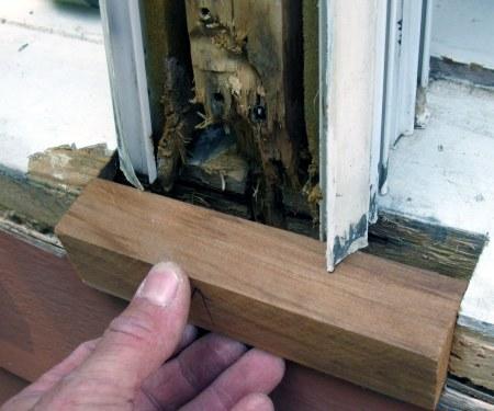 C mo reparar da os de podredumbre en ventanas de madera - Reparar madera ...