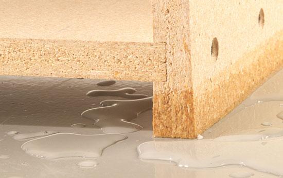 Cómo prevenir y lidiar con los daños por agua en las placas de madera aglomerada
